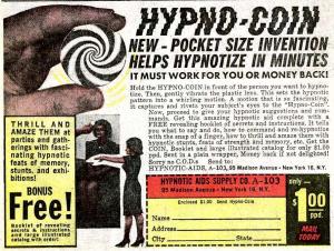Ad for Hypno-coin.